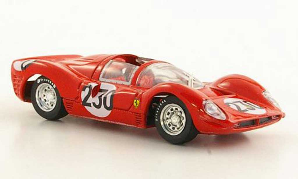 Ferrari 330 P3 1/43 Brumm No.230 Bandini / Vaccarella Targa Florio 1966 miniature