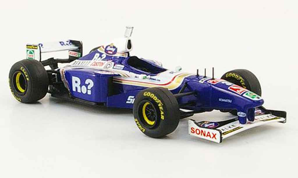 Renault F1 1/43 Onyx williams fw19 no.3 j.villeneuve gp england 1997 miniature