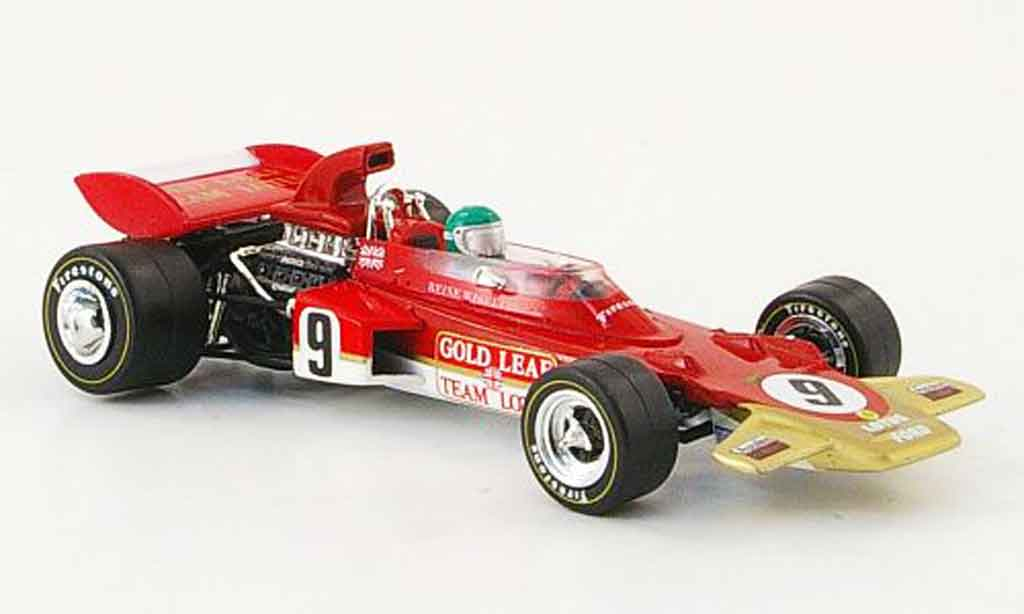 Lotus 72 1/43 Quartzo no.9 or leaf r.wisell gp deutschland 1971 modellautos