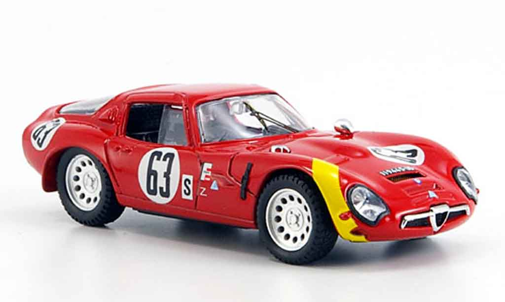 Alfa Romeo TZ2 1/43 Best no.63 geki andrey 12h sebring 1966 miniature