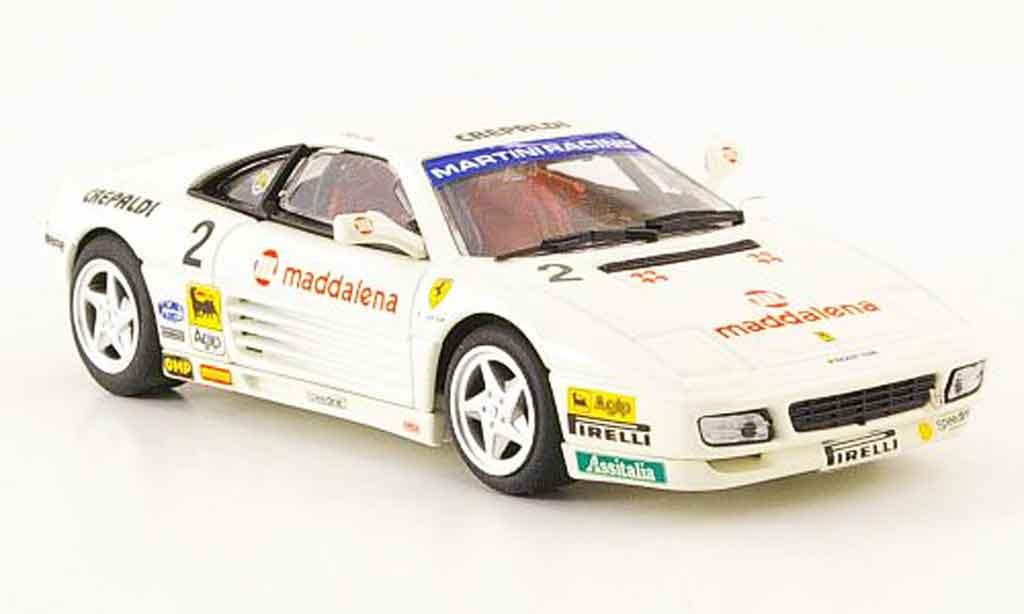 Ferrari 348 Challenge 1/43 Bang Challenge gianni giudici 1993 miniature