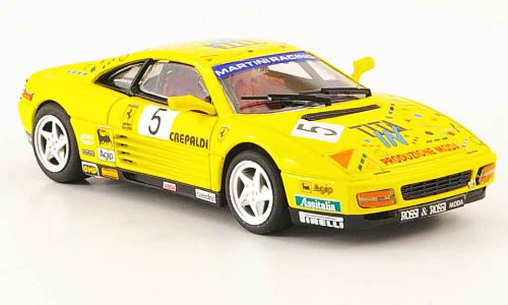 Ferrari 348 Challenge 1/43 Bang Challenge paolo rossi 1993 miniature