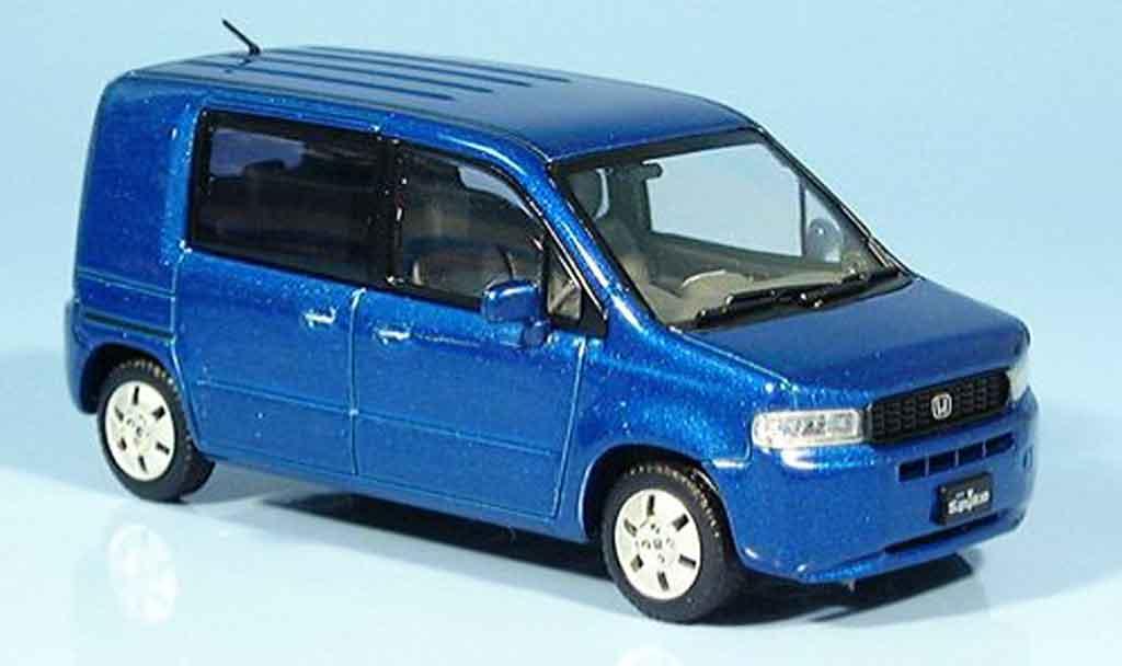Honda Mobilo Spike 1/43 Ebbro bleu 2003 miniature