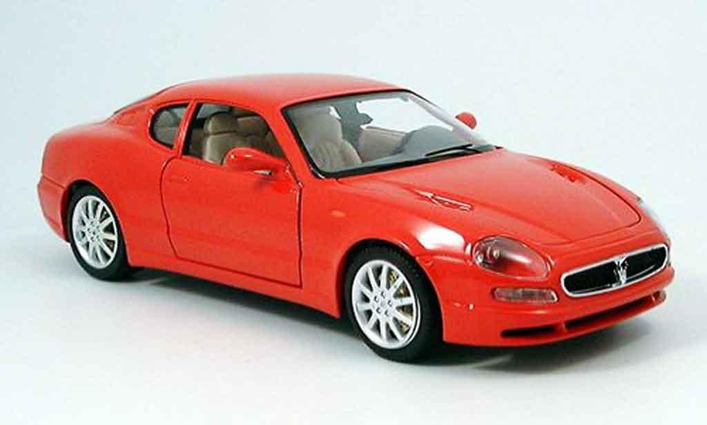 Maserati 3200 GT 1/18 Burago red 1998 diecast