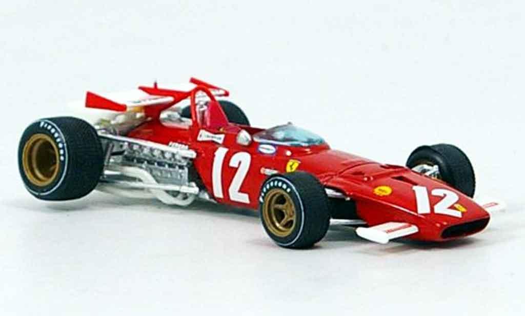 Ferrari 312 B 1/43 Brumm b no.12 jacky ickx gp osterreich 1970 miniatura