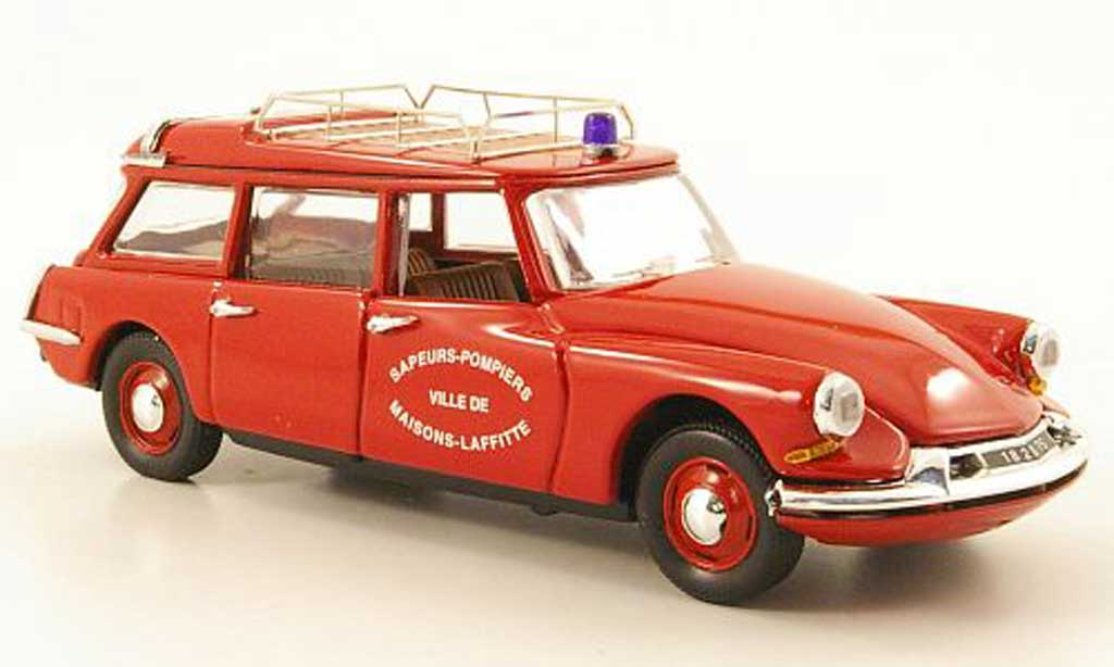 Citroen ID 19 1/43 Rio Break Pompiers Maisons-Laffitte Feuerwehr  1960 miniature