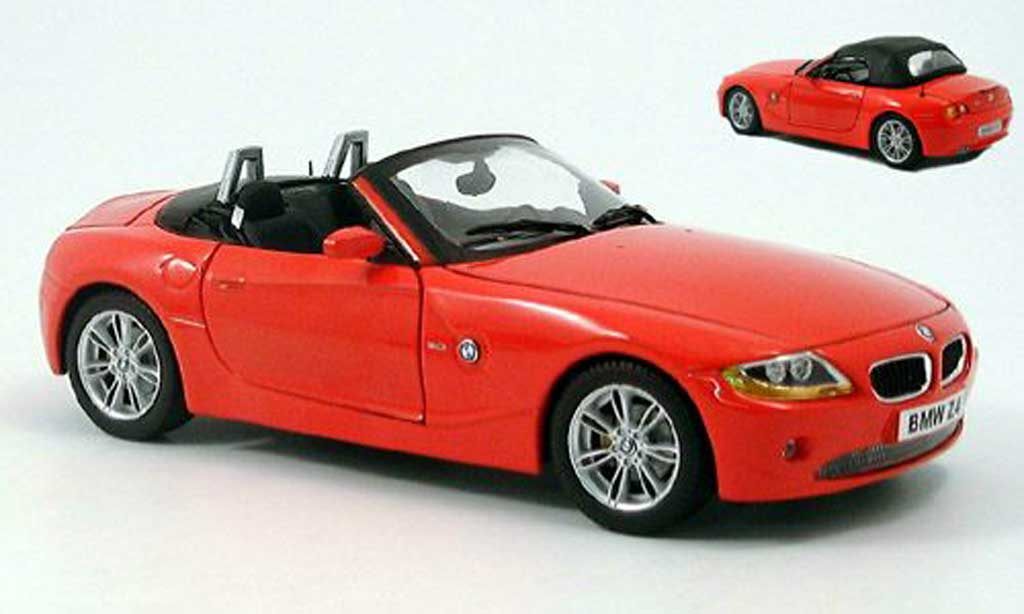 Bmw Z4 E85 1/18 Ricko rouge 2002 miniature