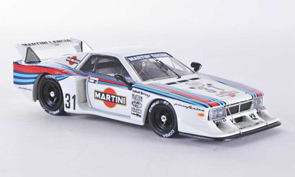Lancia Beta Monte Carlo 1/43 Best Nurburgring Cesaris-Pescaro 1981 miniature