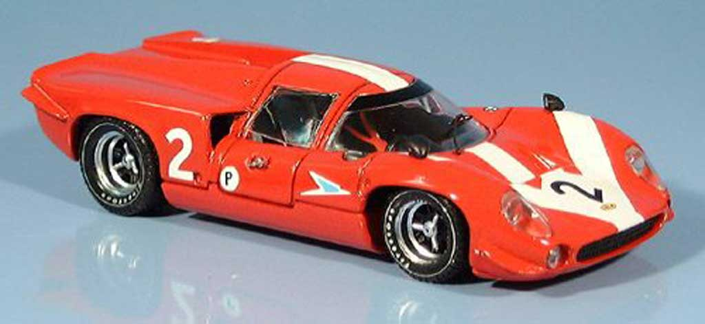 Lola T70 1967 1/43 Best Coupe Brands Hatch Surtees-Hobbs miniature