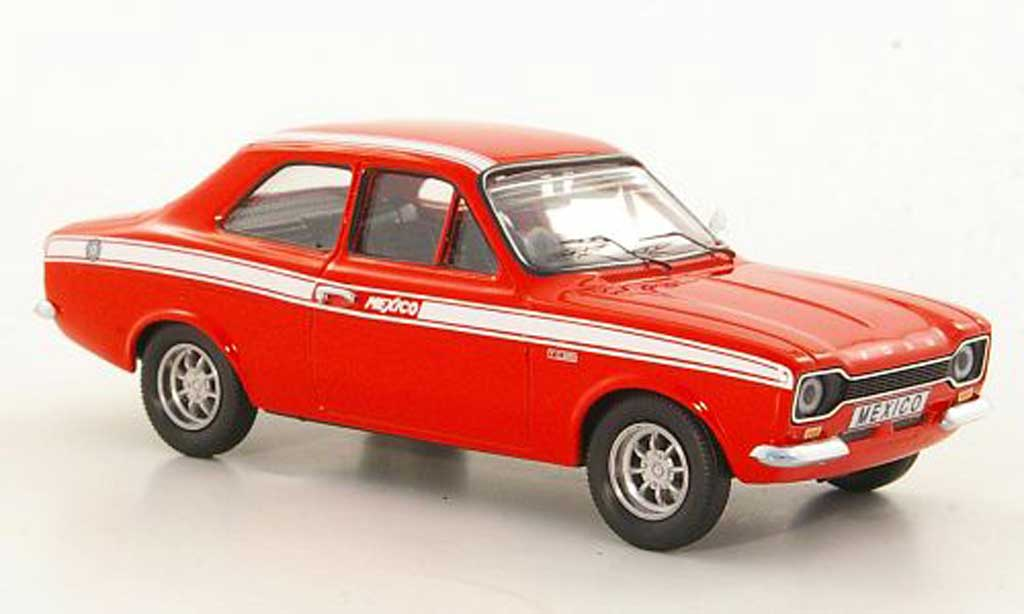Ford Escort MK1 1/43 Trofeu MkI Mexico rouge LHD 1971 miniature