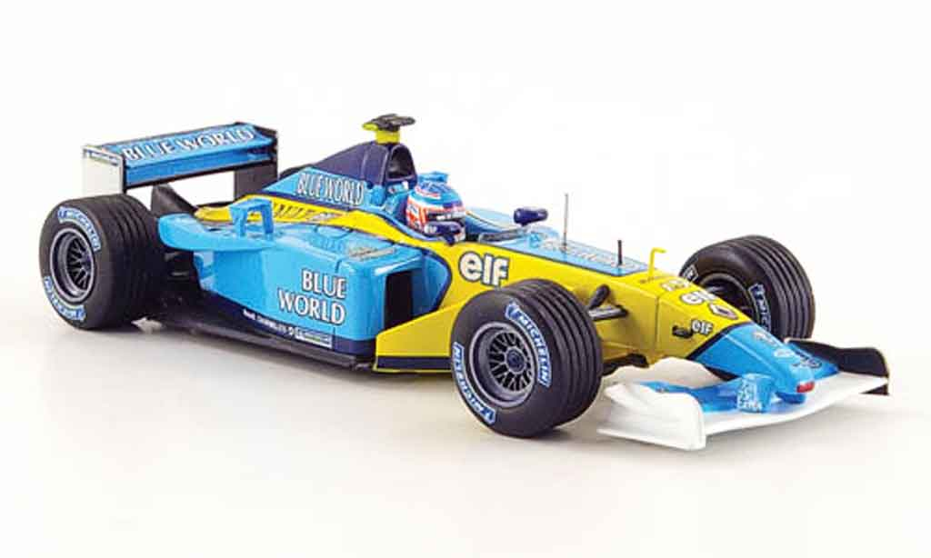 Renault F1 1/43 Eagle team rs 202 no.15 j.button 2002 miniature