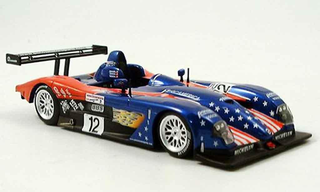 Panoz LMP01 1/43 IXO No 12 Jeannette Donohue Auberlen Le Mans 2002 miniature