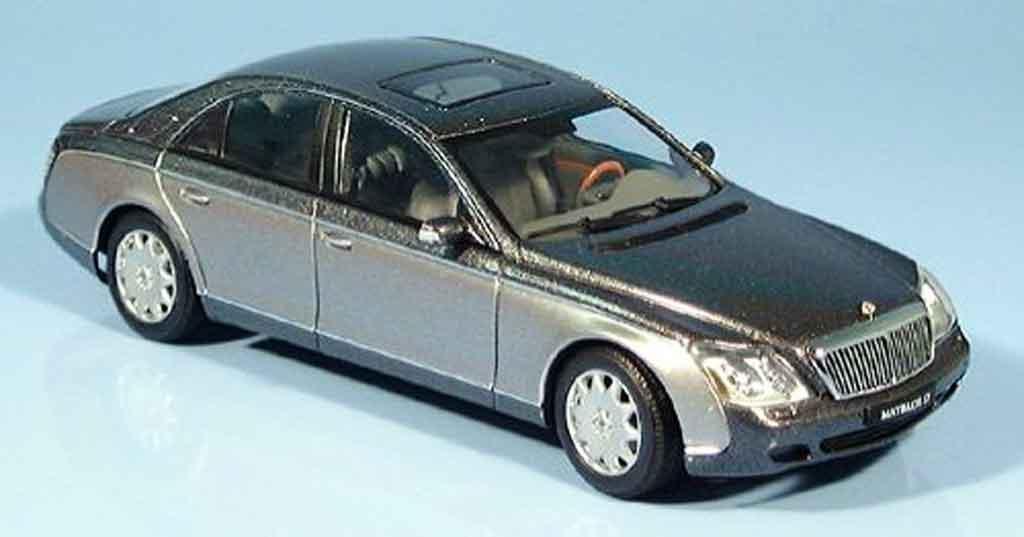Maybach 57 1/43 Autoart SWB grise metallisee 2002 miniature