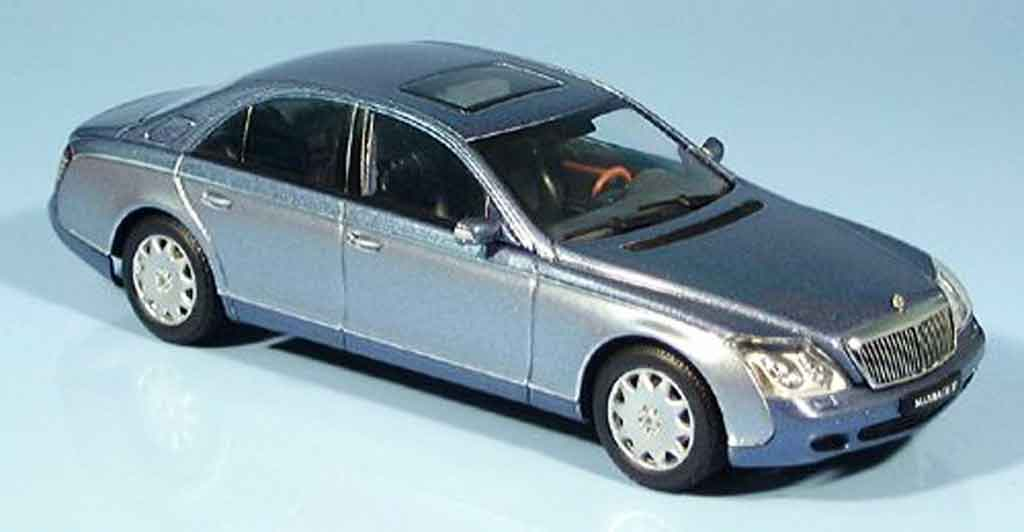 Maybach 57 1/43 Autoart SWB bleu grise metallisee 2002 miniature