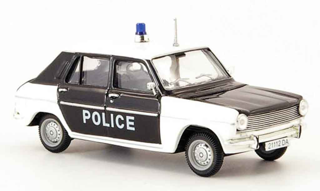 Simca 1100 1/43 Norev gls polizei 1973 miniature