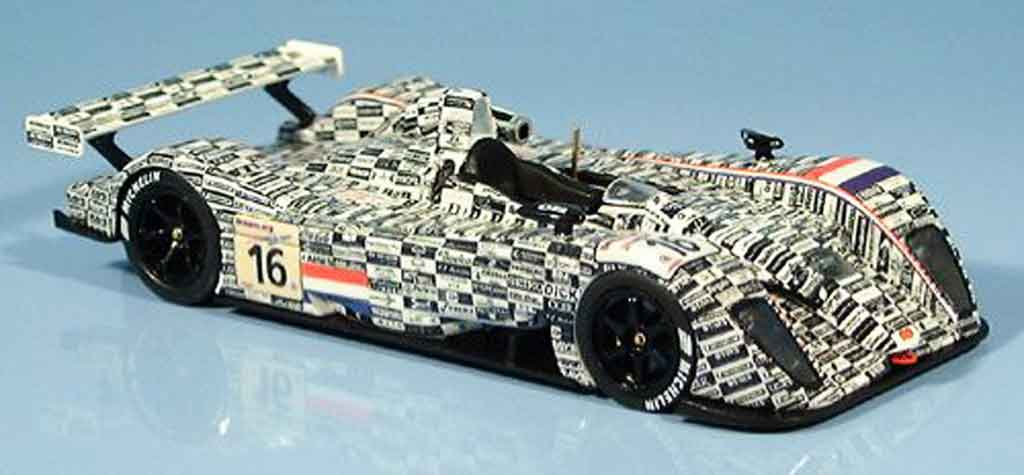 Dome S101 2002 1/43 Ebbro Le Mans Racing for Holland 2002 modellautos