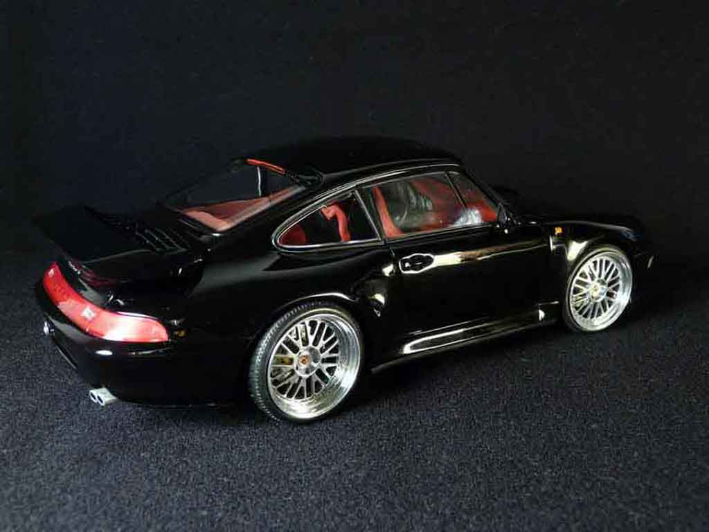porsche 993 turbo s schwarz ut models modellauto 1 18. Black Bedroom Furniture Sets. Home Design Ideas