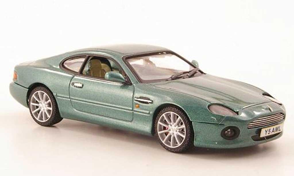 aston martin db7 vantage miniature verte vitesse 1 43 voiture. Black Bedroom Furniture Sets. Home Design Ideas