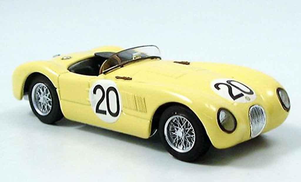 Jaguar C-Type 1/43 Brumm no.20 laurent tornaco neunter le mans 1953 miniature