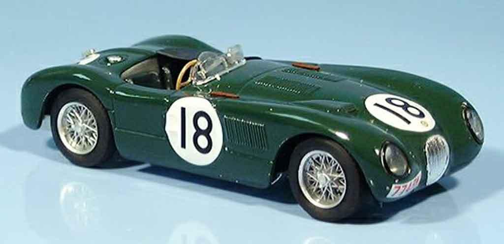 Jaguar C-Type 1/43 Brumm no.18 rolt hamilton sieger le mans 1953 miniature