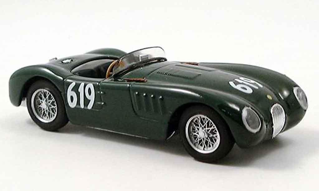 Jaguar C-Type 1/43 Brumm no.619 stirling moss mille miglia 1952 miniature