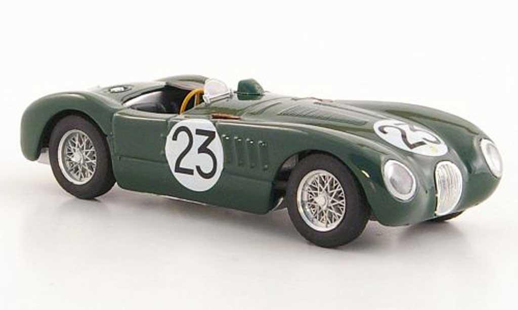 Jaguar C-Type 1951 1/43 Brumm 1951 No.23 Johnson / Biondetti 24h Le Mans miniature