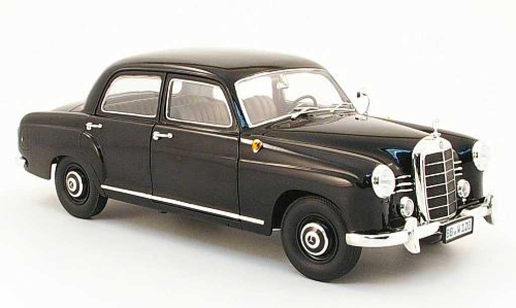 Mercedes 180 1/18 Revell ponton (w 120) black 1953 diecast model cars