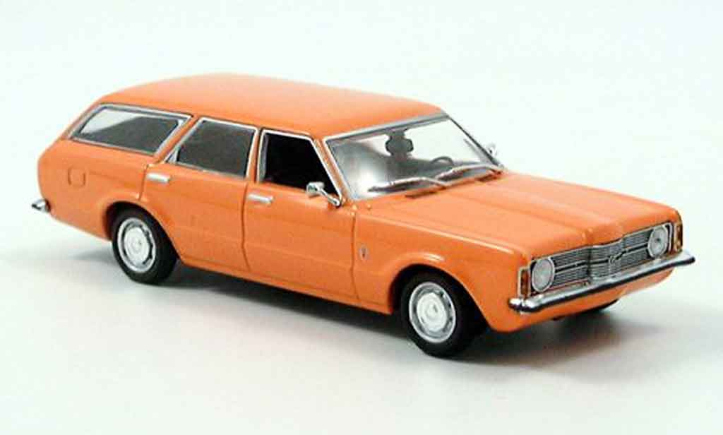 Ford Taunus 1970 1/43 Minichamps (TC) Turnier Orange