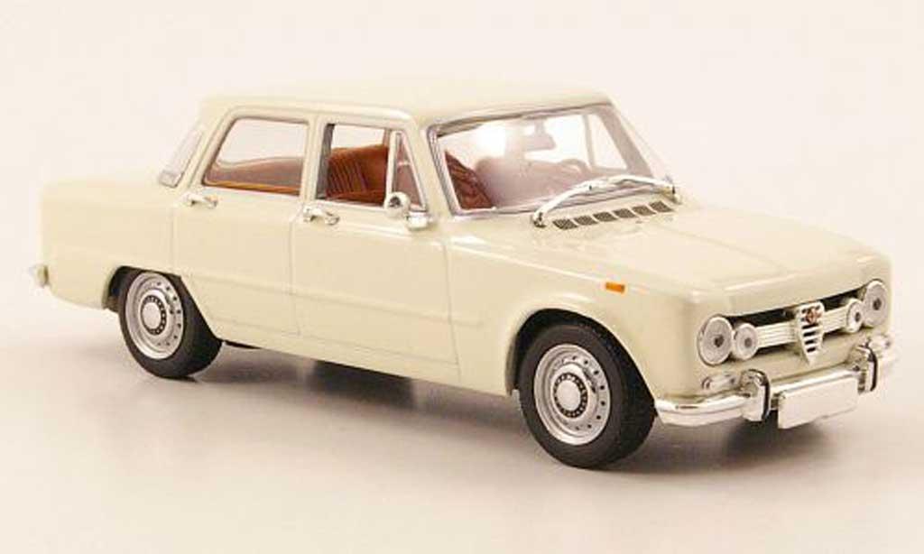 Alfa Romeo Giulia 1600 1/43 Minichamps creme 1970 miniature