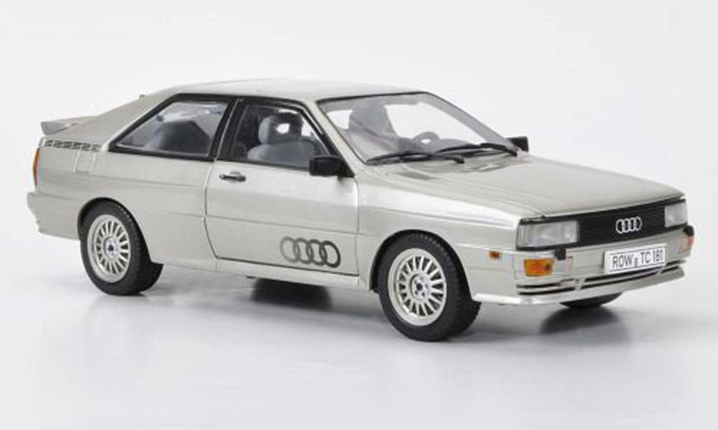 Audi quattro silver 1981 sun star diecast model car 1 18 for Sun motor cars audi
