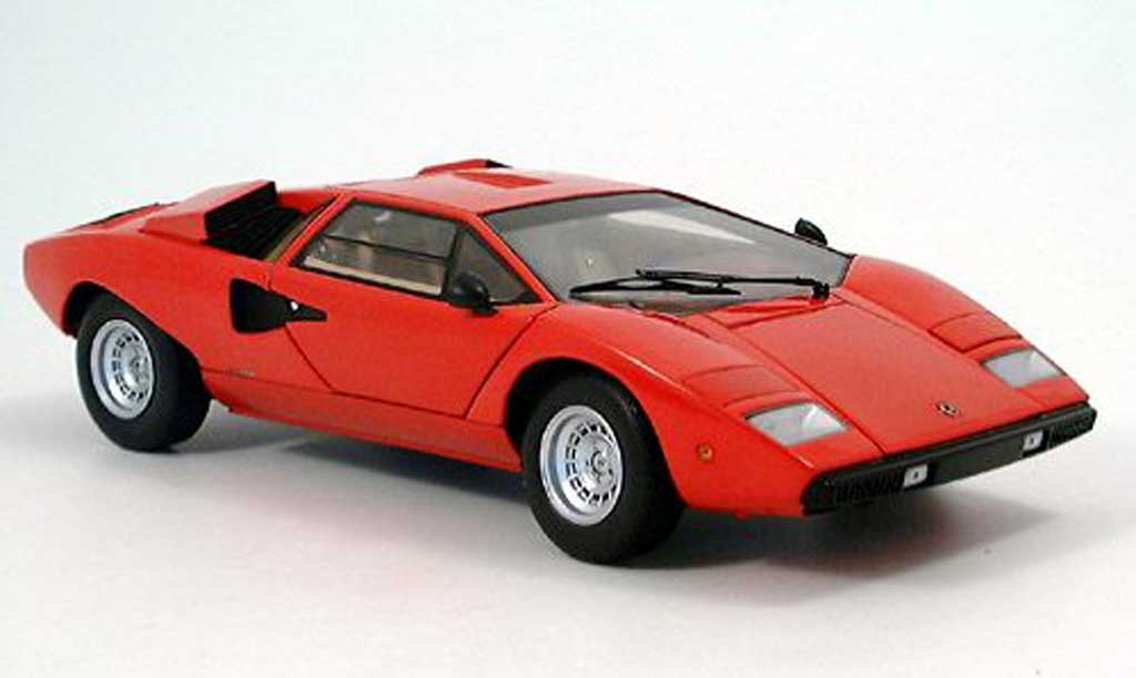 lamborghini countach lp 400 red kyosho diecast model car 1 18 buy sell diecast car on. Black Bedroom Furniture Sets. Home Design Ideas