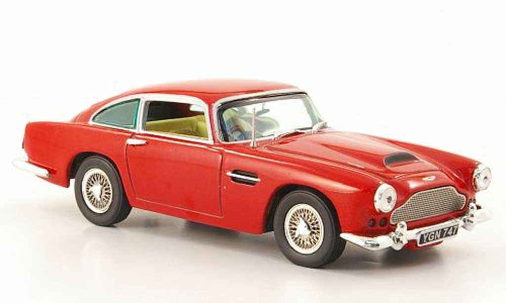 Aston Martin DB4 rot 1959 Vitesse. Aston Martin DB4 rot 1959 modellauto 1/43