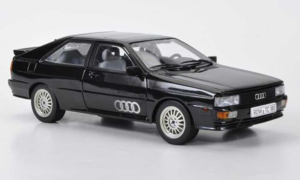 Audi Quattro 1/18 Sun Star noire 1981 miniature