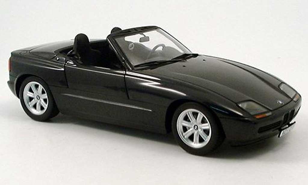 bmw z1 miniature noire 1988 minichamps 1 18 voiture. Black Bedroom Furniture Sets. Home Design Ideas