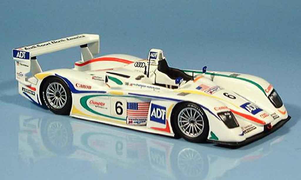 Audi R8 2003 1/43 Minichamps LeMans Pirro Lehto Johansson diecast