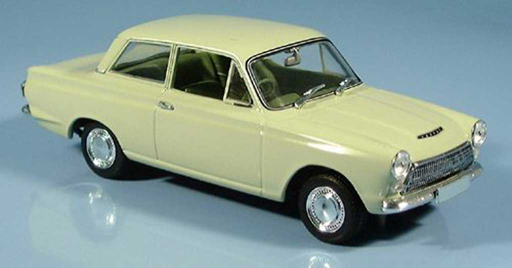 Ford Cortina 1/43 Minichamps MK I verte 1962 miniature