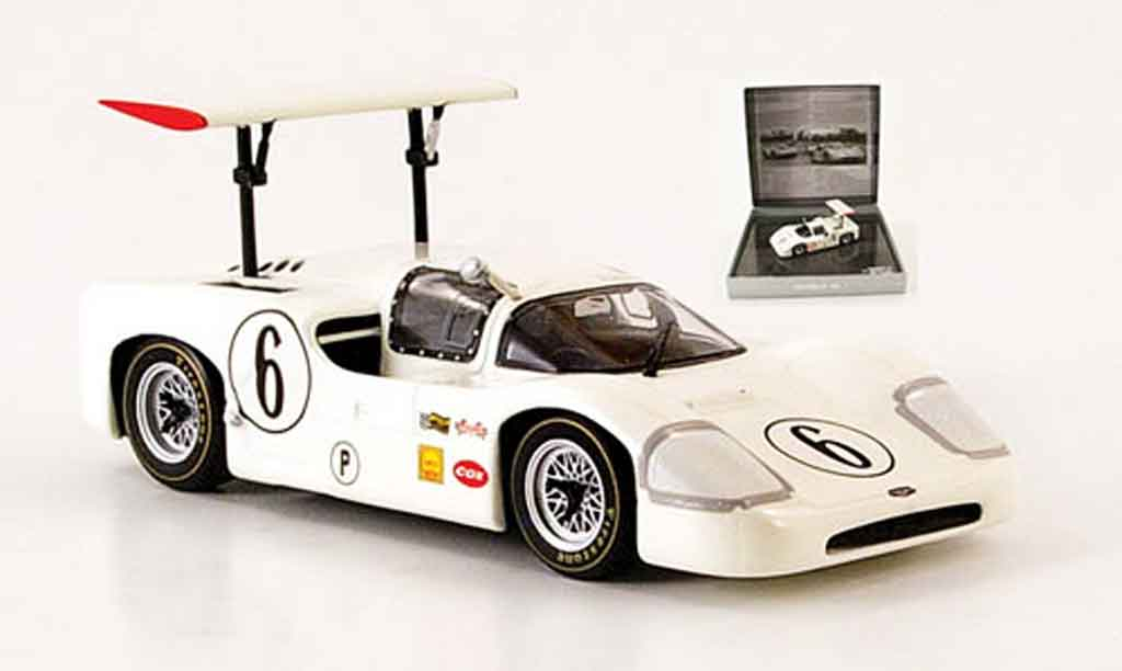 Chaparral 2F 1/43 Minichamps No.6 Hall Spence 12h Sebring 1967 miniature