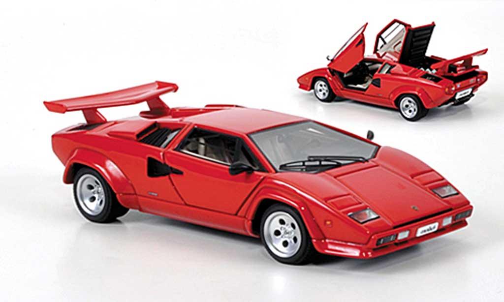lamborghini countach 5000 s rojo autoart coches miniaturas. Black Bedroom Furniture Sets. Home Design Ideas