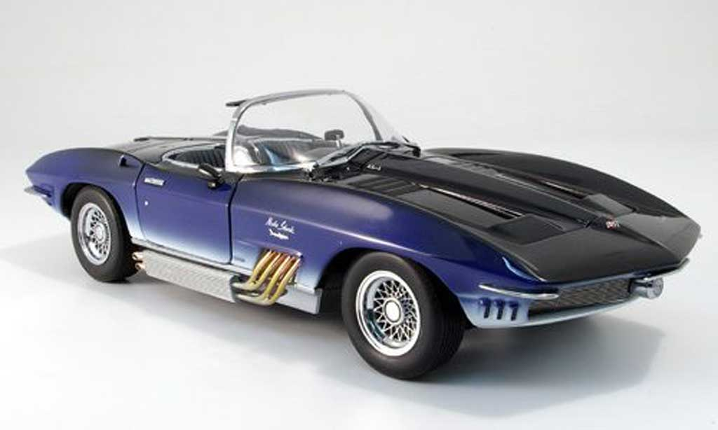 Chevrolet Corvette C1 1/18 Autoart mako 1961 diecast model cars