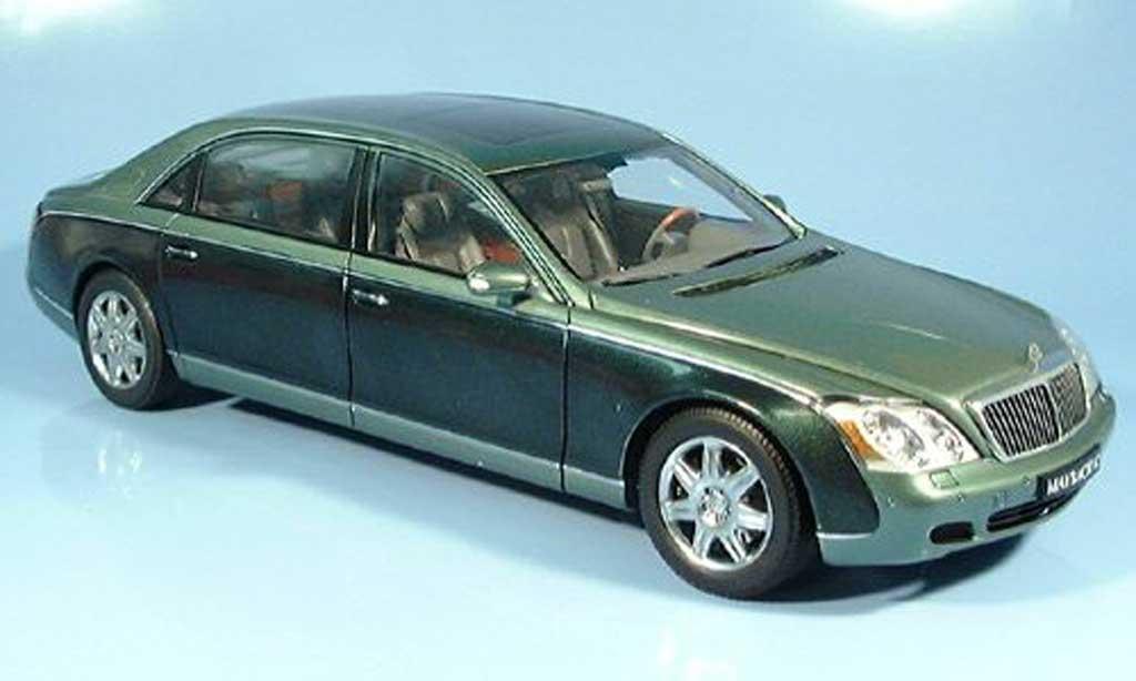 Maybach 62 1/18 Autoart lwb grun miniature