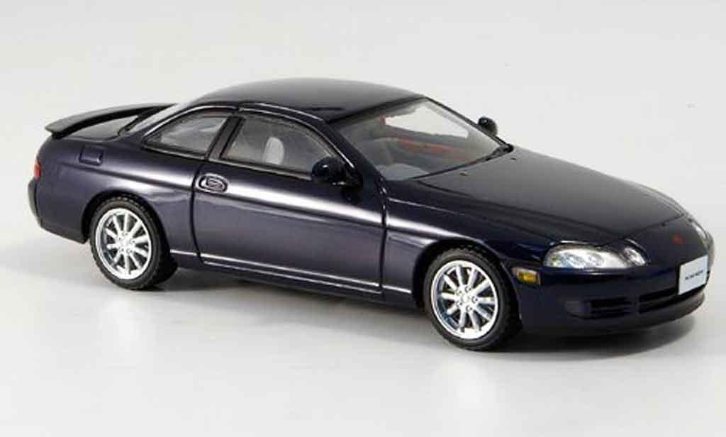 Toyota Soarer 1/43 Kyosho 2.5gt twin turbo l bleu 1991 diecast model cars