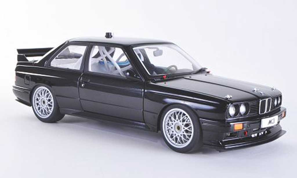 Bmw M3 E30 DTM black Plain Body Version Autoart. Bmw M3 E30 DTM black Plain Body Version DTM miniature 1/18