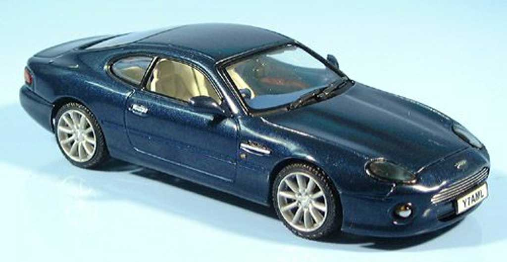 Aston Martin DB7 Vantage blau Vitesse. Aston Martin DB7 Vantage blau modellauto 1/43
