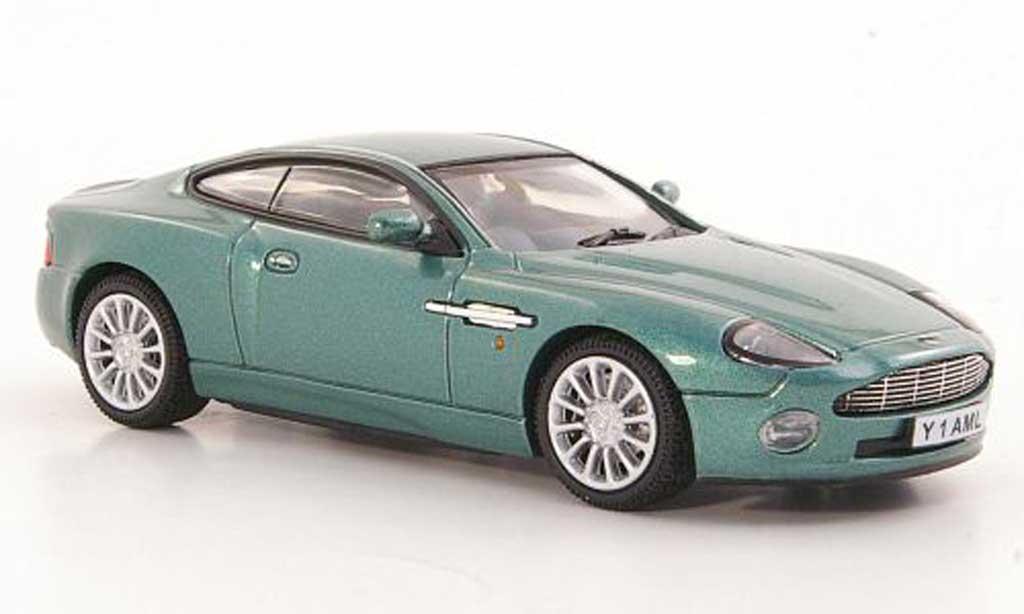 aston martin vanquish miniature verte rhd vitesse 1 43 voiture. Black Bedroom Furniture Sets. Home Design Ideas