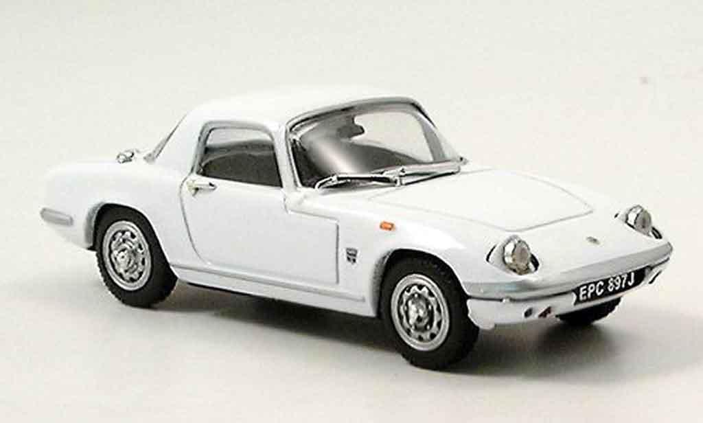 Lotus Elan 1/43 Vitesse coupe blanche miniature