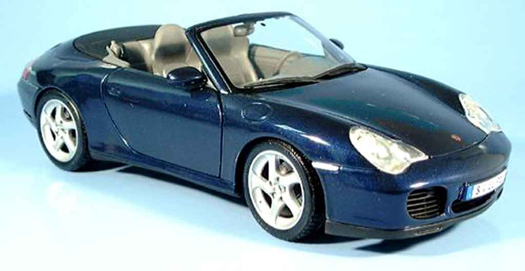 porsche 996 cabriolet 4s blau 2003 maisto modellauto 1 18 kaufen verkauf modellauto online. Black Bedroom Furniture Sets. Home Design Ideas