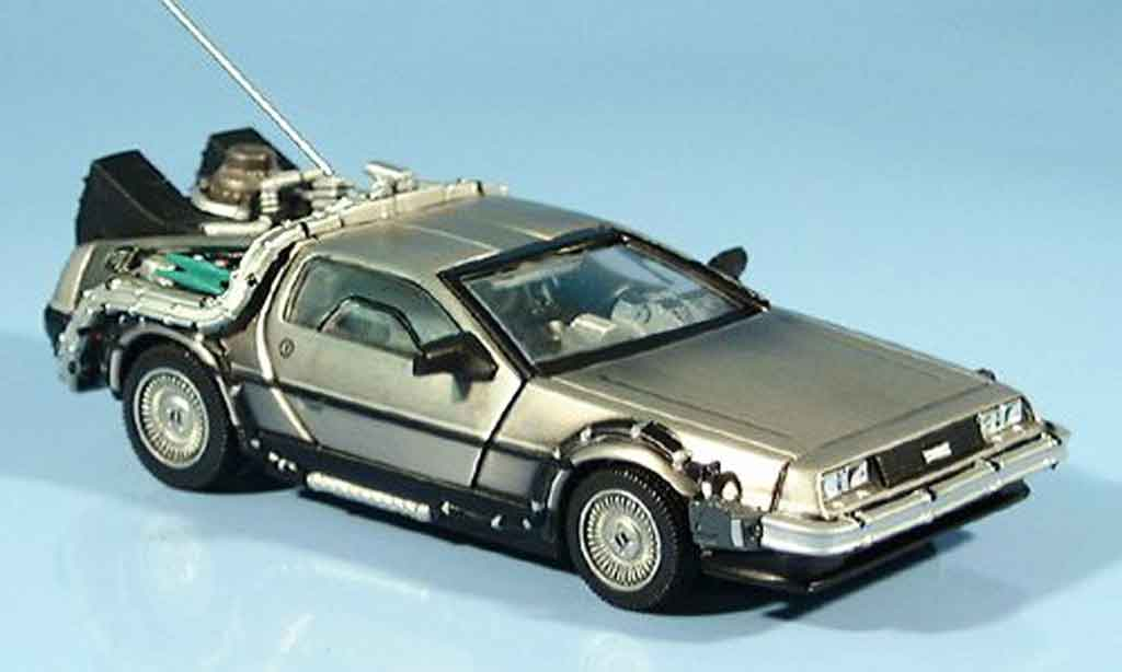 De Lorean futur I 1/43 Vitesse DMC 12 Back to the Futur I 1987 miniature