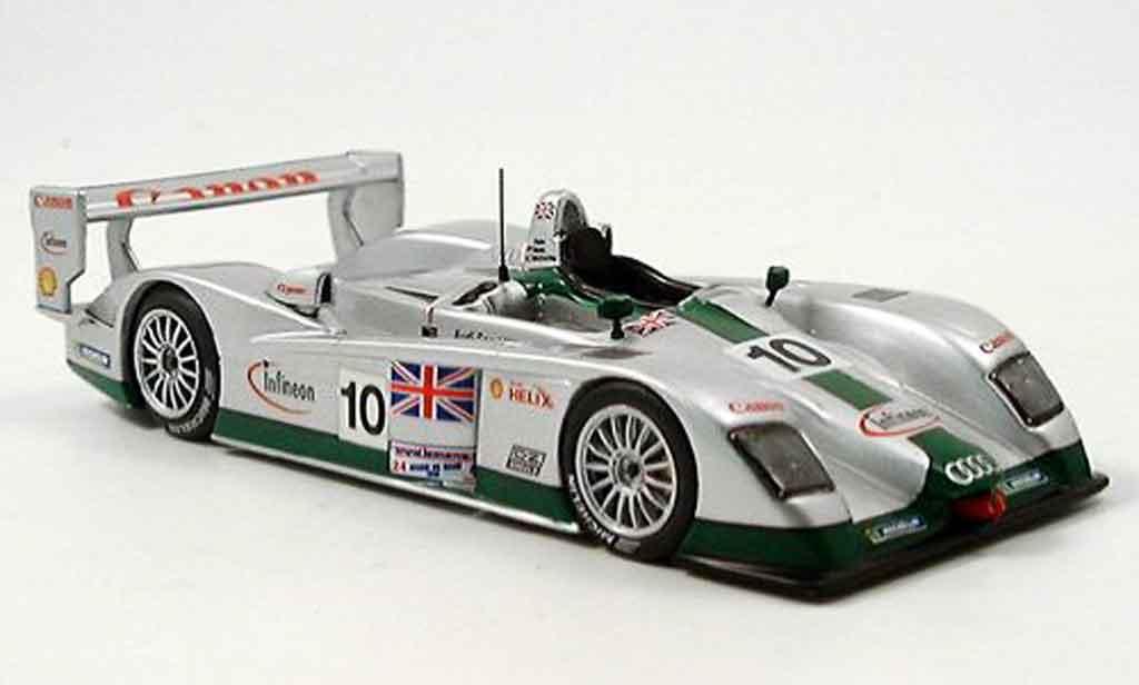Audi R8 2003 1/43 IXO LM Biela McCarthy Salo No. 10 diecast
