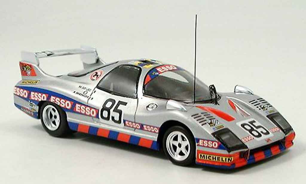 Peugeot WM 1978 1/43 Bizarre turbo no. 85 P77 miniature