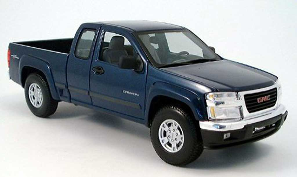 GMC Canyon 1/18 Maisto bleu 2004 miniature